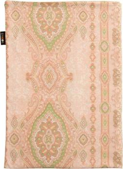 100% Cotton Futon Mattress Cover, Paisley/Botan, Twin Size,