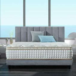 BedStory 12in Queen Bed Mattress Gel Infused Memory Foam Mat