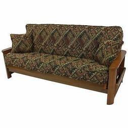 3 piece full size tapestry futon cover