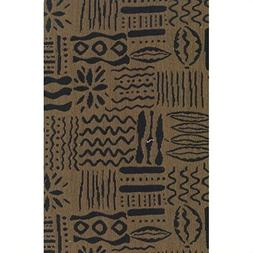 Blazing Needles S/5 Tapestry Futon Cover Package in Hierogly
