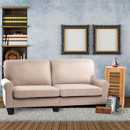 "BAHOM 70"" Indoor Futon Loveseat Sofa, 2 Seats Sofa Bed for"