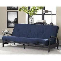 futon mattress 8 tufted full size navy