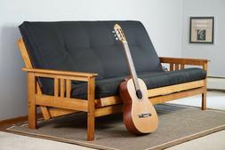 Barbados Wood Frame and Mattress Set  INNERSPRING Full Futon