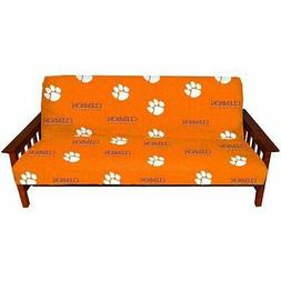 Clemson Futon Cover - Full Size fits 6 and 8 inch mats by Co