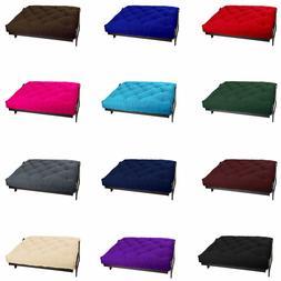 Comfort 6 Inch Thick Futon Mattress Mattresses Bed Cotton &