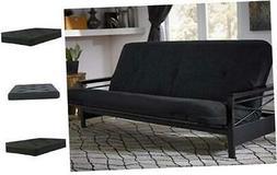 DHP 6-inch Coil Futon Full Size Mattress , Black