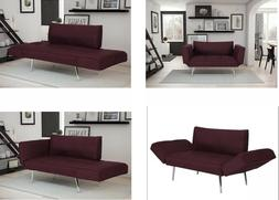 Novogratz Leyla Loveseat, Multifunctional and Modern Design,