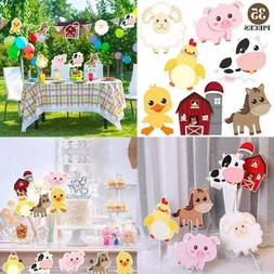 Farm Animal Party Decorations & Supplies Animals Decor For B