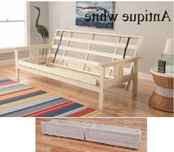 """Kodiak full 79"""" Monterey futon frame & drawer set, 5 finishe"""