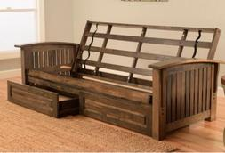 full 81 tucson futon frame w drawer