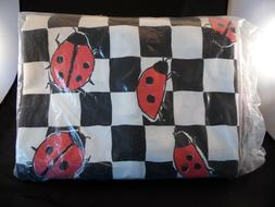 SIS Covers Full Bugaboo Lady Bug Zipper Futon Cover NEW Seal