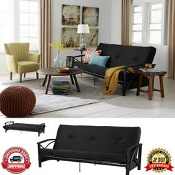 """Full Futon Mattress Guest Spare Room Sofa Bed 6"""" Full Size C"""