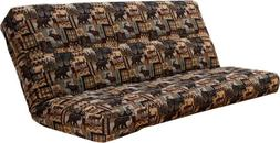 "Kodiak full size 8"" innerspring mattress for futon. Fabric c"