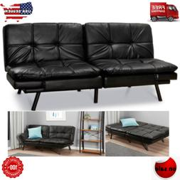 FULL Size Memory Foam Futon Sofa Bed Couch Sleeper Convertib