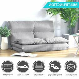 Futon Chair Sofa Bed Daybed Floor Furniture Folding Sofa Liv