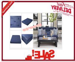"Futon Mattress 8"" Full Size Bedroom Furniture Standard Frame"