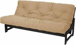 Futon Mattress Full Khaki Futons Frames Sofa Bed For Relax A