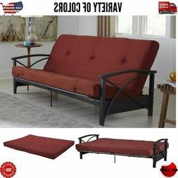 Futon Mattress Guest Spare Room Sofa Bed Full Size Couch Com