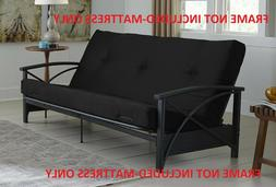 Futon Mattress  Guest Spare Room Sofa Bed Full Size Couch Co