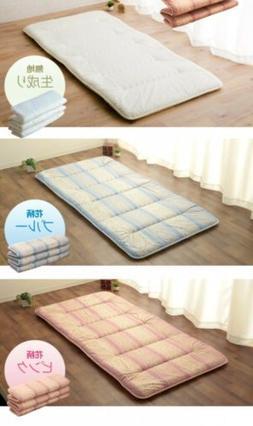 FUTON mattress shikifuton MADE in JAPAN can be folding New l