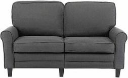 futon sleeper sofa bed loveseat couch ergonomic