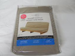 Mainstays Futon Slipcover 54''L x 75''W x 7''H Microfiber Ta