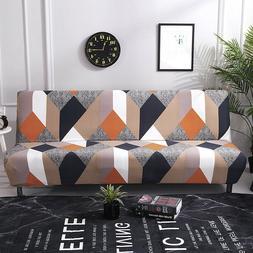 Futon Slipcover Armless Sofa Cover Stretch Sofa Bed Slipcove