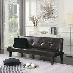 Futon Sofa Bed Couch Furniture Lounger Sleep Dorm Living Roo