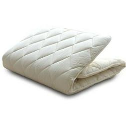 Japanese Traditional Futon Mattress  Twin Size White Made in