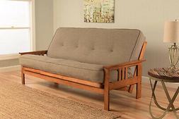 Kodiak Furniture KFMOBBLSTNLF5MD3 Monterey Futon Set With Ba