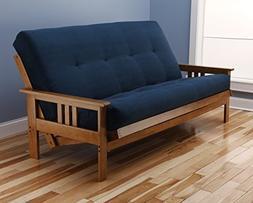 Kodiak Furniture KFMOBTSNAVYLF5MD3 Monterey Futon Set with B