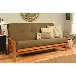 Kodiak Furniture KFMOBTSOLIVLF5MD3 Monterey Futon Set with B