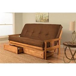 Kodiak Furniture KFMODBTSCHOCLF5MD4 Monterey Futon Set with