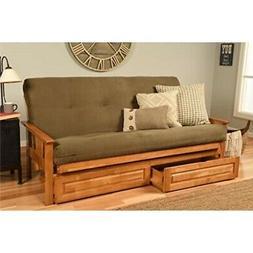 Kodiak Furniture KFMODBTSOLIVLF5MD4 Monterey Futon Set with