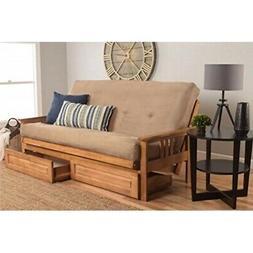 Kodiak Furniture KFMODBTSPEATLF5MD4 Monterey Futon Set with