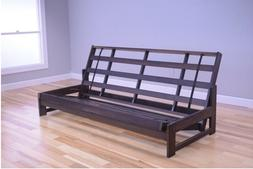 "Kodiak full 76"" Aspen futon frame, reclaimed walnut.  Mattre"