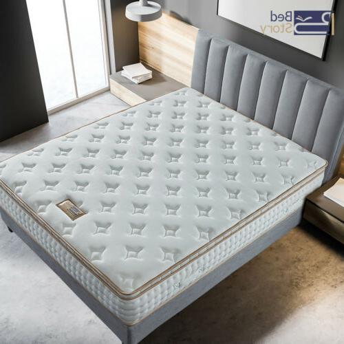BedStory inch Queen Mattress Foam Luxury Pocket Bed