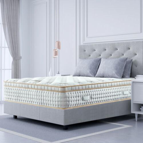 BedStory 12 Queen Mattress Gel Memory Foam Pocket Coil Bed