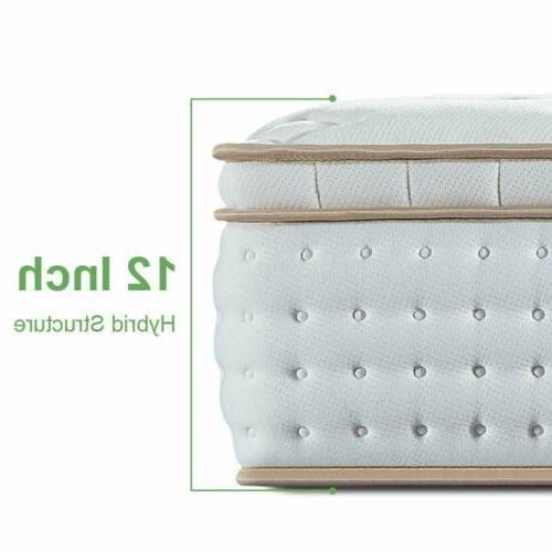 BedStory Mattress Gel Foam Pocket Coil Bed