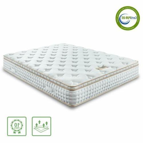 BedStory Queen Mattress Foam Mattress Pocket