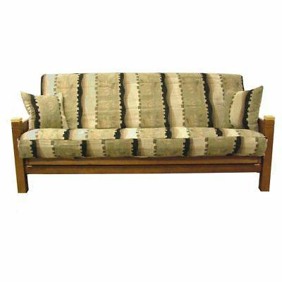 3 piece full size chenille futon cover