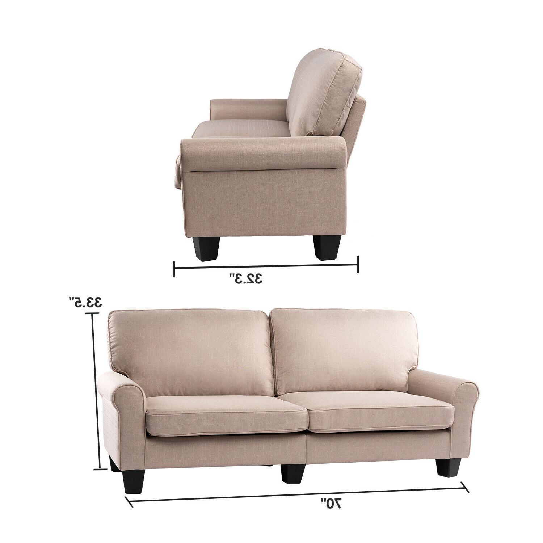 BAHOM Loveseat Sofa, 2 Sofa Bed Living Room