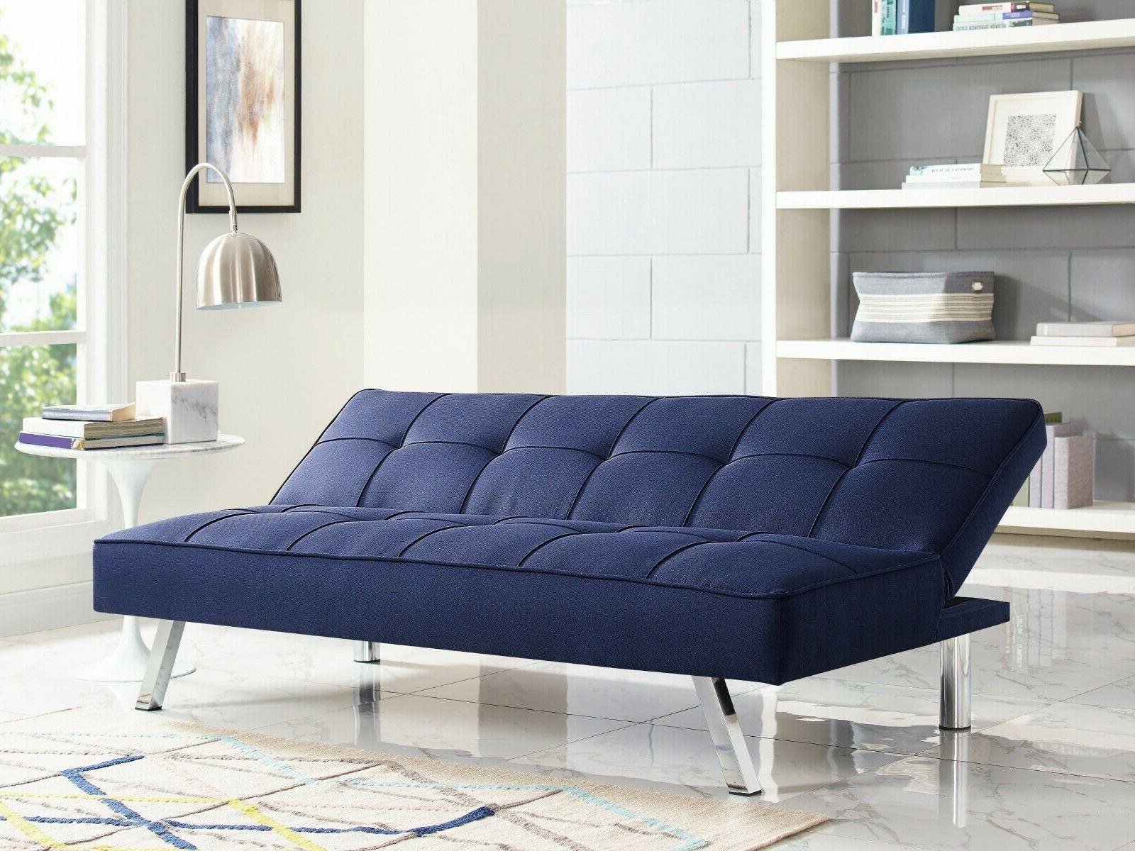 Serta Upholstery Sofa, Navy Blue