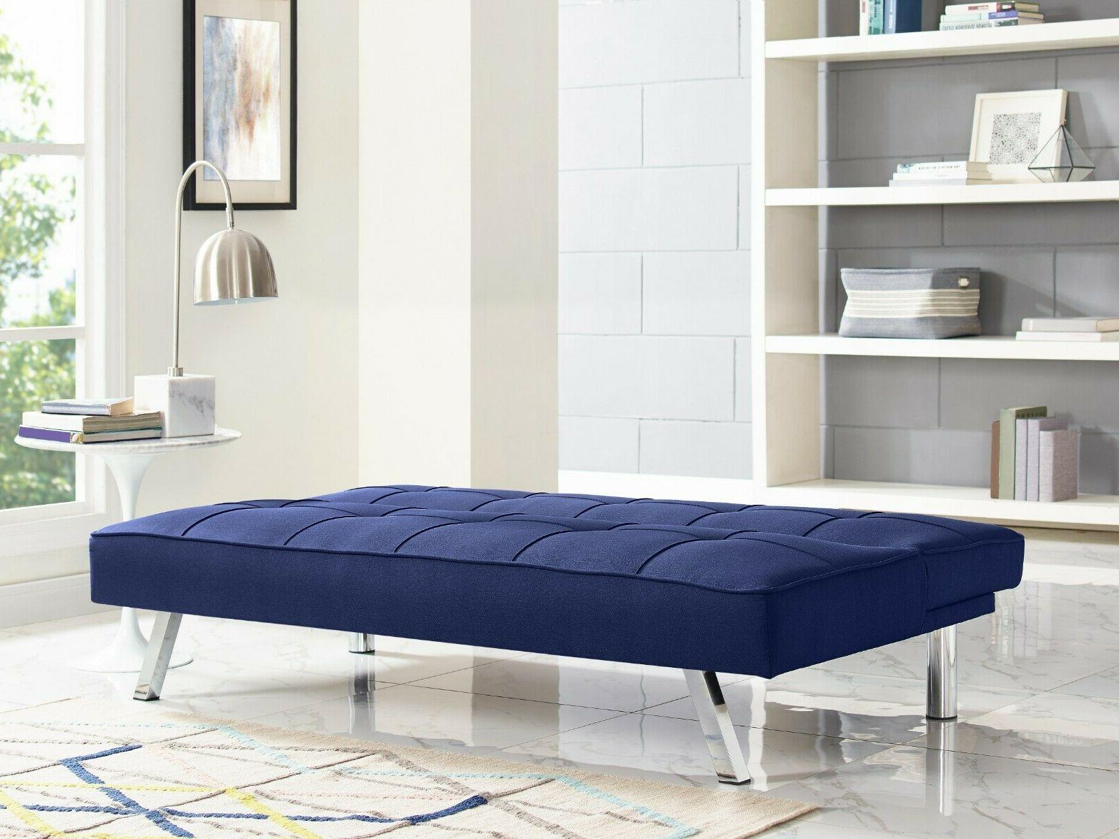 Serta Upholstery Fabric Sofa, Blue