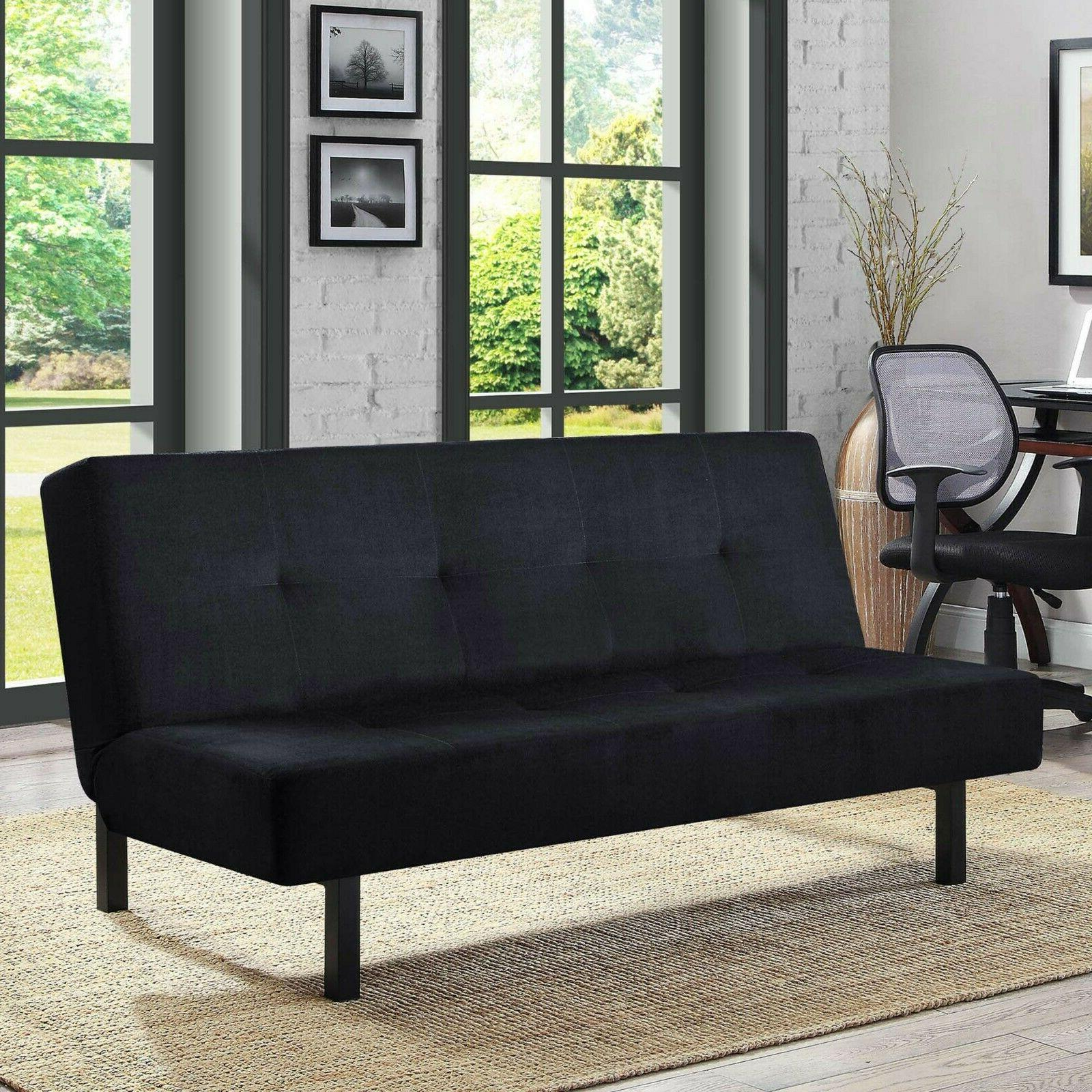 Convertible Couch Tufted Twin Size Mattress