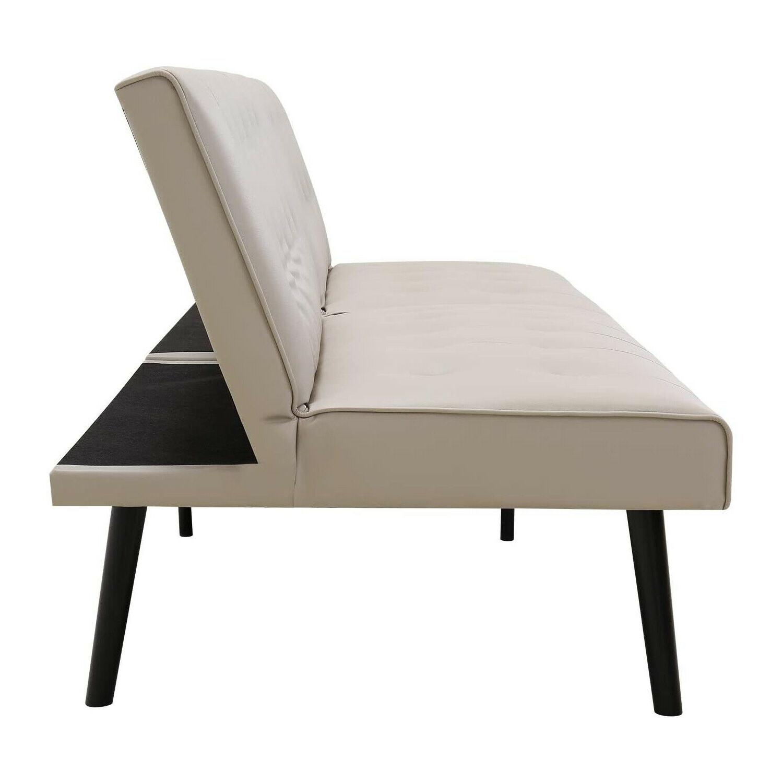 Convertible Bed Sleeper Lounge Loveseat