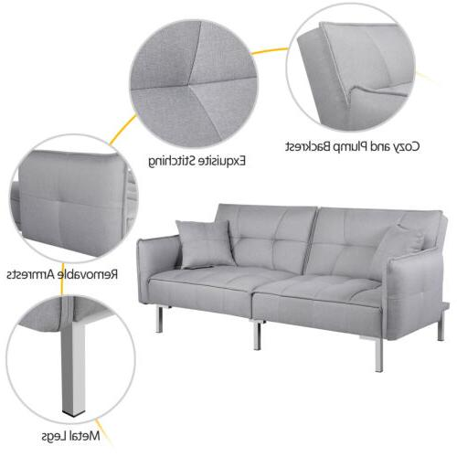 Convertible Sectional Futon Daybed Pull
