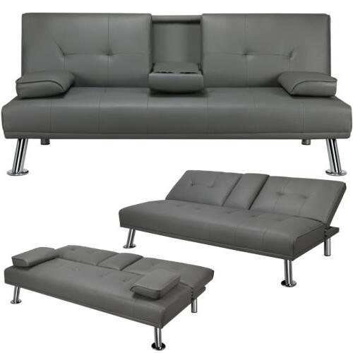 convertible sofa sleeper couch loveseat futon sofa