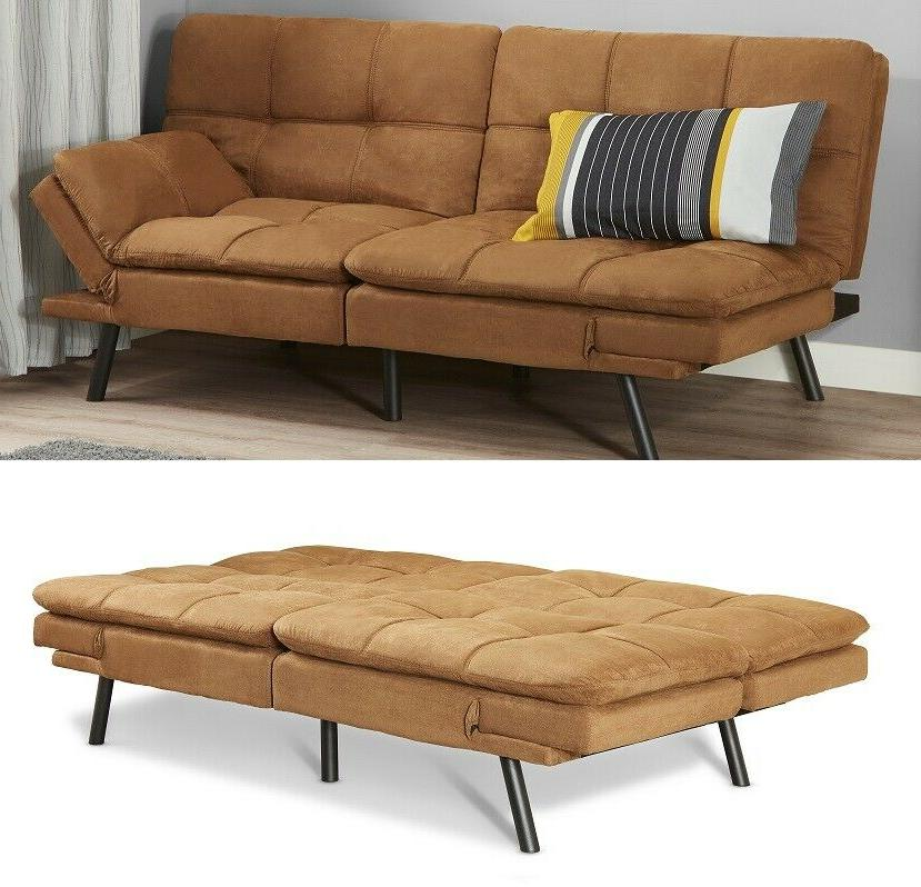 foam futon sofa bed couch sleeper convertible