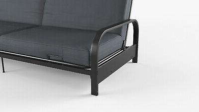 Full Size Futon Sofa Frame Mattress Convertible